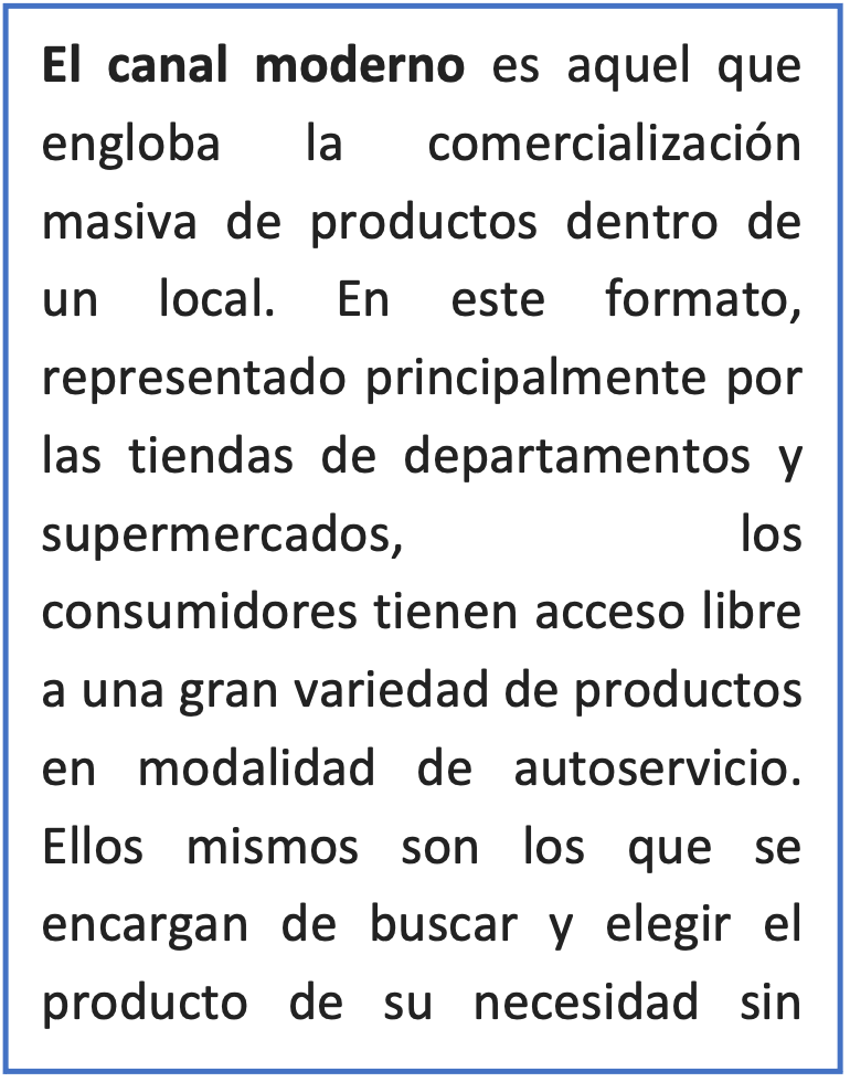 Canal moderno